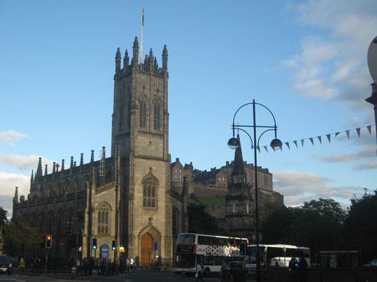 Edimbourg est une ville historique