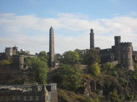 Le château d'Edimbourg