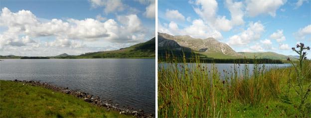 lacs connemara irlande