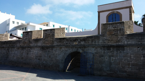 Une entrée de la vieille ville