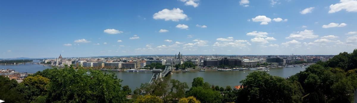Vue sur la partie Pest de Budapest