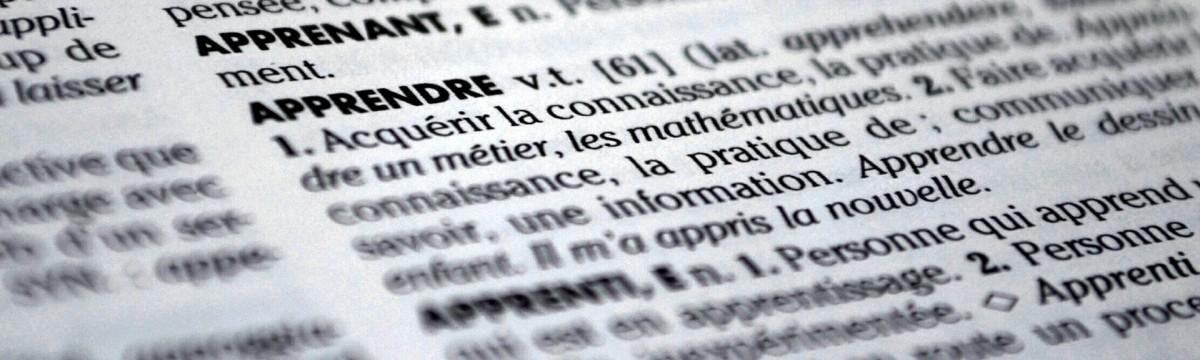 Le vocabulaire permet de comprendre et donc de mémoriser