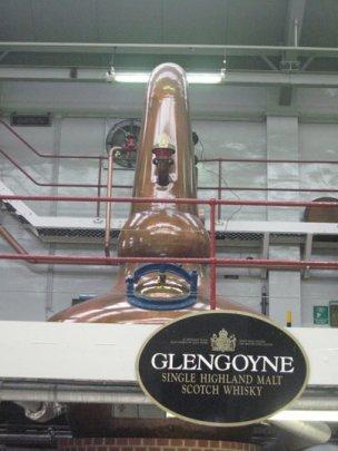 La distillerie Glengoyne
