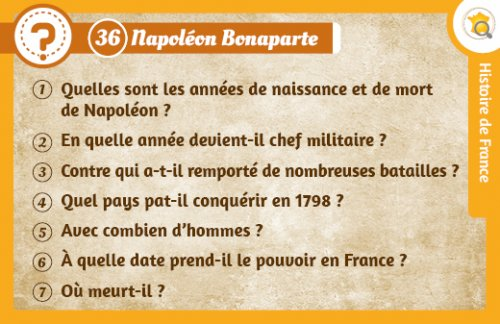 question napoleon